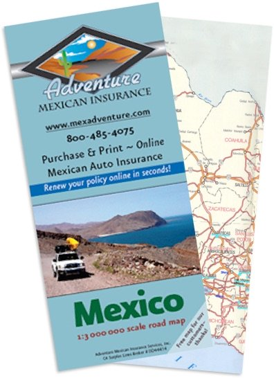 Free Map of Mexico